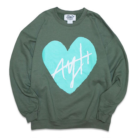 AYH HEART CREWNECK SWEAT
