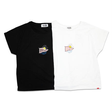AYH SUNSET DOLMANSLEEVE WIDE T-shirts
