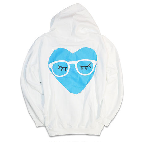 AYH MEGANE HEART ZIP HOODY SWEAT