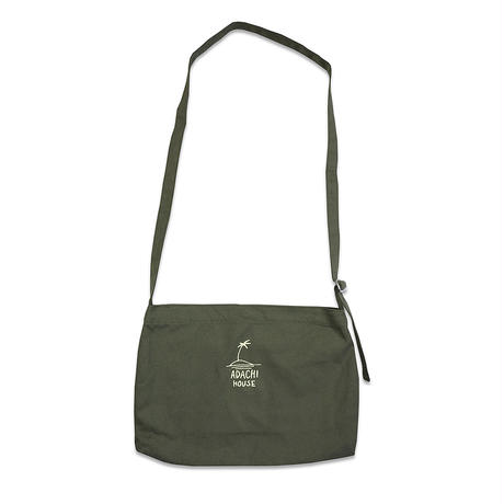 PALMTREE CANVAS MUSETTE BAG