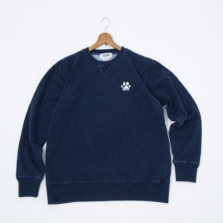 AYH INDIGO HEAVYWEIGHT CREWNECK SWEAT