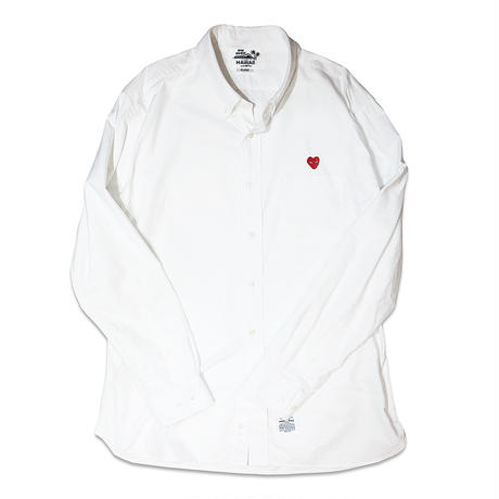 AYH HEART OXFORD SHIRTS