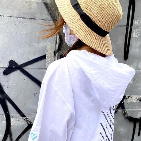RAFFIA BRIM HAT