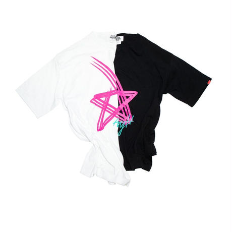 AYH PINK STAR WIDE T-shirts