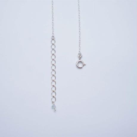 Onyx ×Black rutile quartz  Neclace