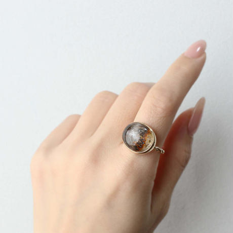 Dendriticquartz Ring