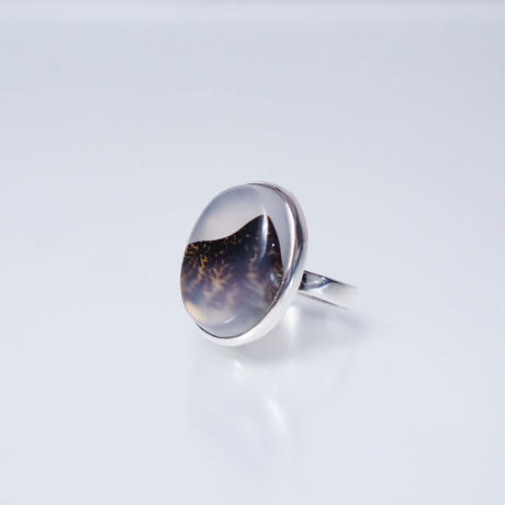 Dendritic agate  Ring