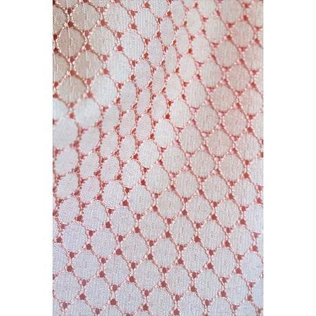 【ホワイト×ピンク】エイトタック ワンピース