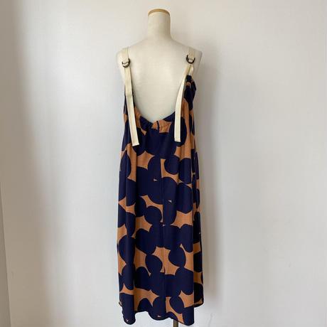 ドットプリント サマードレス