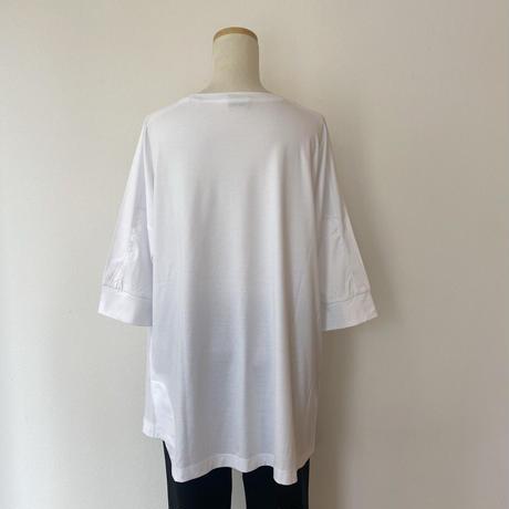 変形裾ビッグTシャツ