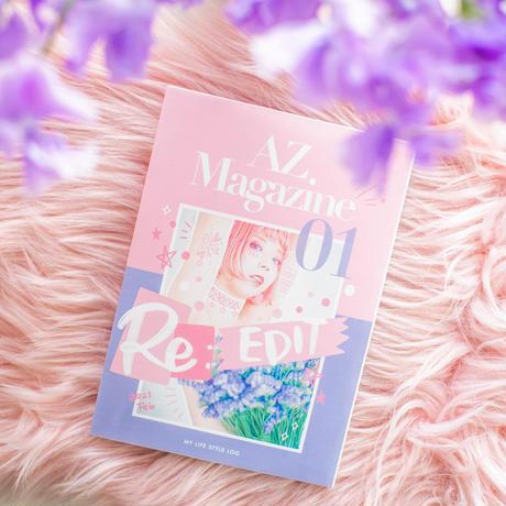 AZ MAGAZINE #01【マガジン単品】
