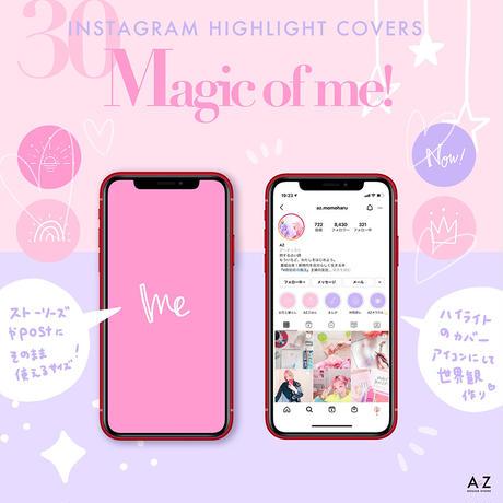 【Magic of me!】Instagramハイライトカバー/アイコンセット