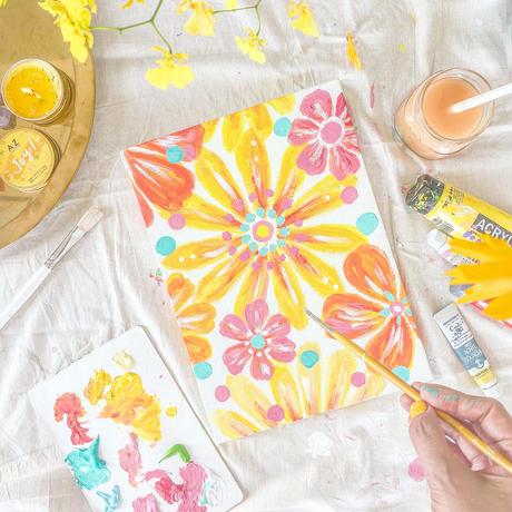【限定】夏の魔法の壁紙「I am a sun flower!」