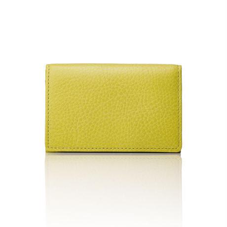 AZUMAYA card case pistachio green