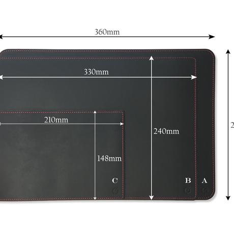 Leather deskpad A5