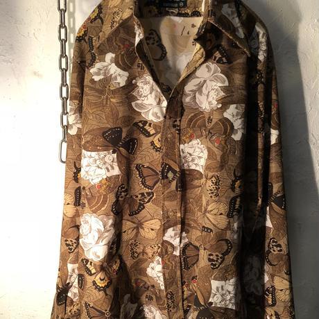 70,s KOREA製 グランジストレッチシャツ美品