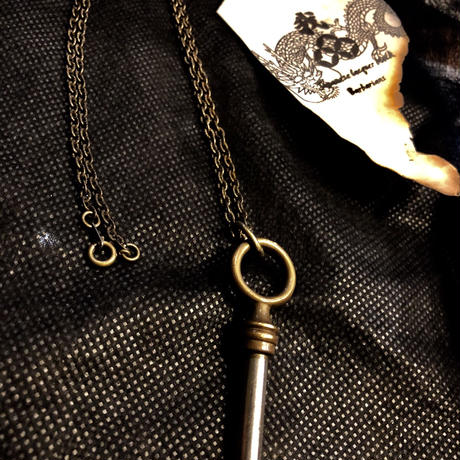 1940,s vintage U.S.A. IRON Walletchain カスタマイズパーツシリーズ26 ★30,s U.S.A. CLASSIC KEY NECKLACE