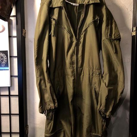 89年製 米軍ヘリクルー部隊 ARAMID FLIGHT SUIT(ALLINONE)デッドストックヴィンテージ目玉アイテム