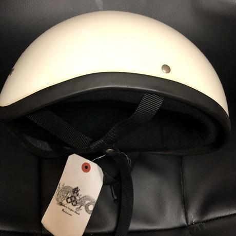 Motorcycle ダッグテール USEDヘルメットWHITEスペシャルプライス