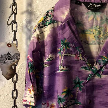 80-90,s MADE IN U.S.A. Hawaiian Shirt ヴィンテージ美品