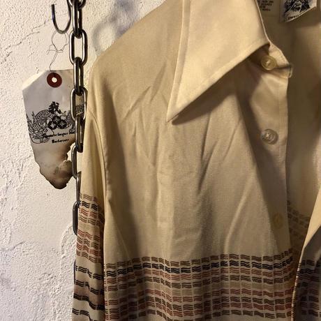 70,s KOREA KENNINGTONストレッチポリシャツ美品
