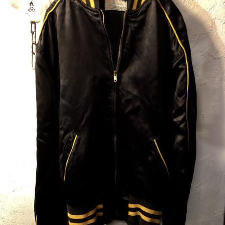 50,s vintage U.S.A. TALONジッパー SATEEN Varsity Jacket