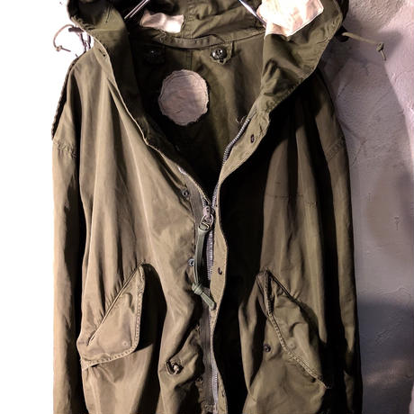60,s USA CROWNアルミジッパー M-51 MODS PARKA 希少Small 目玉ヴィンテージ