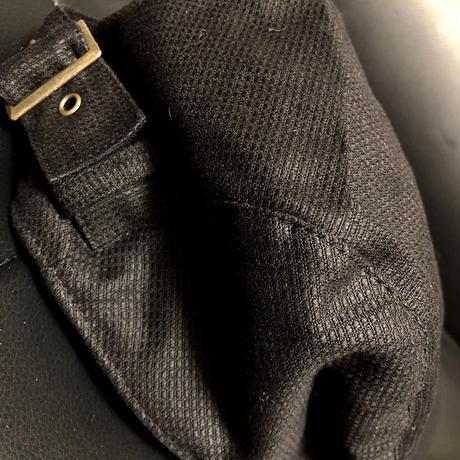 BACK BELT HUNTING CAP Jazzy BLACK 未使用品スペシャルプライス