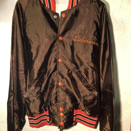 DeLong U.S.A.製80,s Varsity Jacket美品