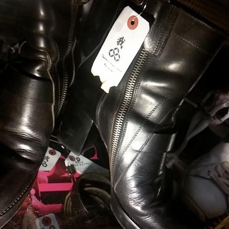 人気イタリーモード Rick Owens WEDGE HEEL Boot 極上美品