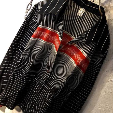 70,s vintage EURO Open-collar shirt美品