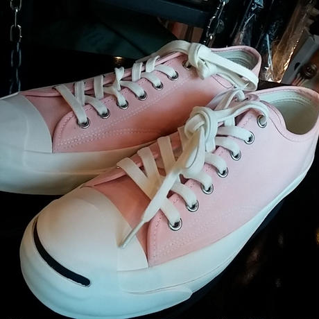 CONVERSE Addict 2014モデル Jack Purcell CANVAS PINK BOX付未使用品