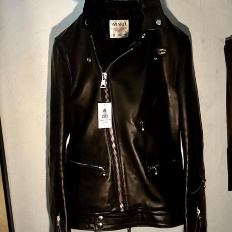 Lewis Leathers COWLEATHER 441T T.F CYCLONEタイトフィット36 オーダーLONG TALL仕様美品
