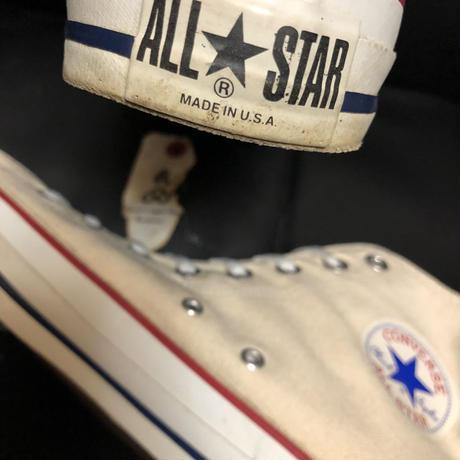 90,s vintage U.S.A. ALL STAR CANVAS Hi オールドモデル極上美品 目玉アイテム連続リリース!