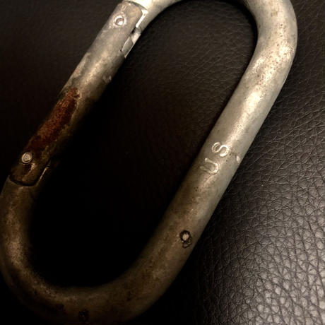 1940,s vintage U.S.A. IRON Walletchain カスタマイズパーツシリーズ23 ★50,s U.S.A. Large KARABINER