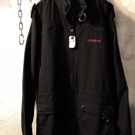 adidasジャパン正規品2005レアモデルRACING JACKET BLACK美品