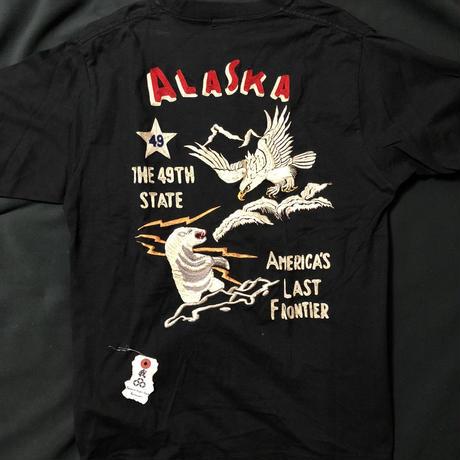 東洋エンタープライズ ALASKA  EAGLE × BEARスーベニア Tee