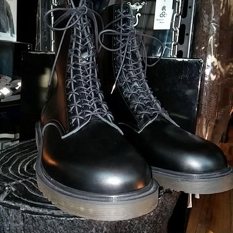 UNDERCOVERISM バックジッパーLaceup BOOT BOX付極上未使用品スペシャルプライス