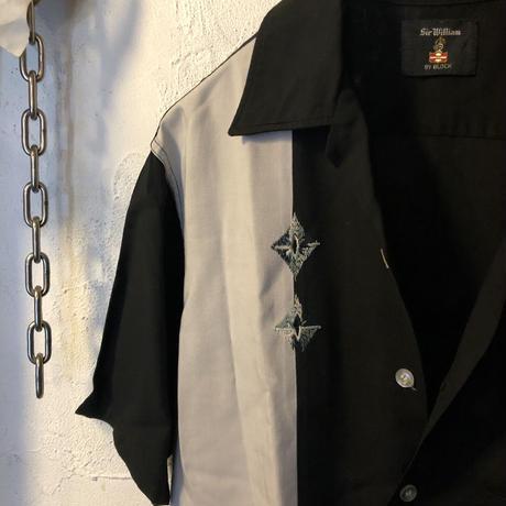 《超目玉》U.S.A.製 60,s 希少ブラックべースRockabilly Shirtリアルヴィンテージ美品スペシャルプライス