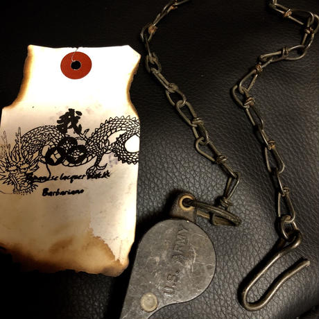1940,s vintage U.S.A. IRON Walletchainカスタマイズパーツシリーズ17 ★40,s vintage U.S.ARMY WHISTLE NECKLACE