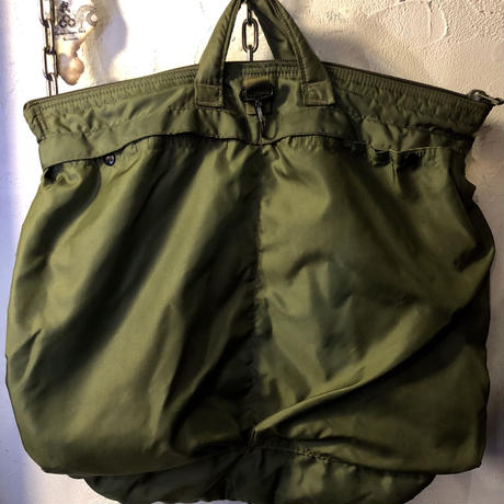 U.S.Military vintage 80,s FLYER'S HELMET BAG目玉人気ヴィンテージ極上美品スペシャルプライス