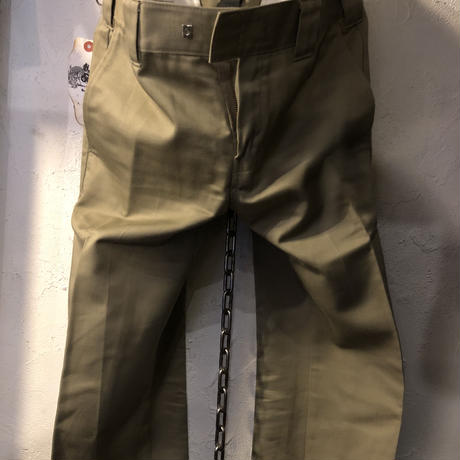 AKM × Dickies ダブルネームWorkers slacks BEIGE