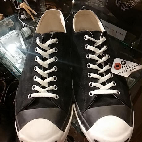 CONVERSE LIMITED MODEL 15,s Jack Purcell スウェードレザーBLACK Low美品