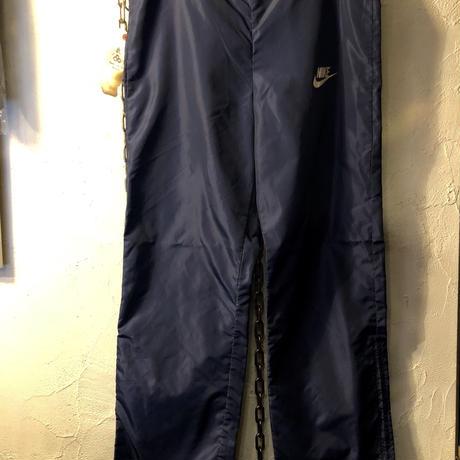 オールドNIKE 80,s紺タグ 裾ロングジッパーNYLON JERSEY ヴィンテージ美品