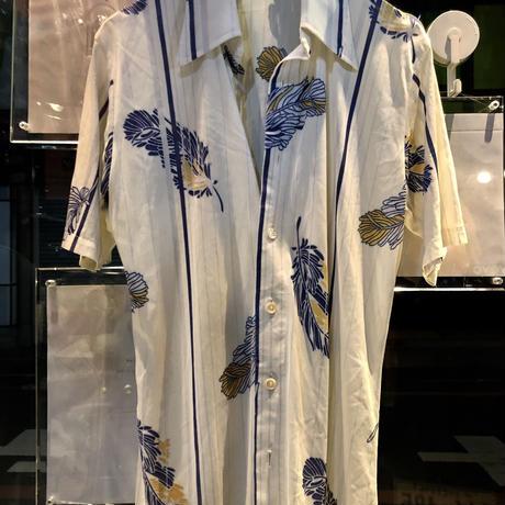 70,s レアU.S.A.製 ストレッチポリレトロチンピラシャツ美品スペシャルプライス