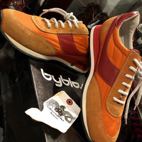 MADE IN ITALY 99,s byblos SNEAKERS BOX付美品スペシャルプライス