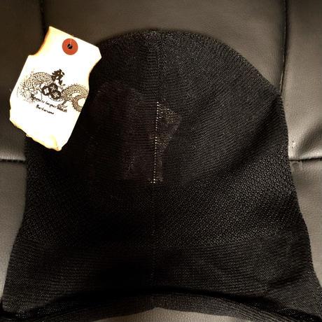 BLACK LINEN CAP 19SS override 商品タグ付き未使用品②