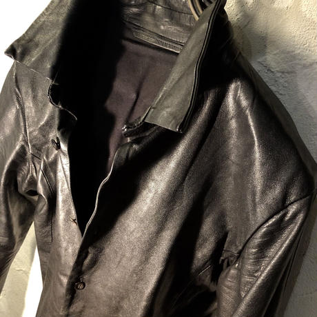VADEL 15W CowLeather Shirt 極上美品