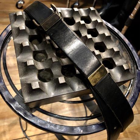 iolom 最高級GUIDI LEATHER Belt BLACK