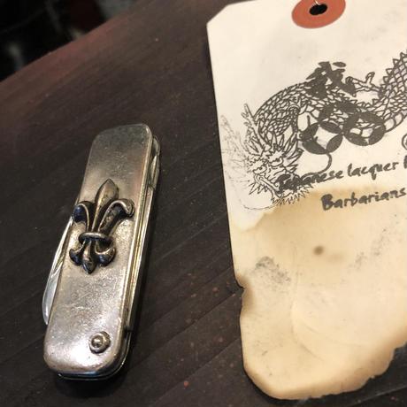 世界三大シルバー時代90,s中期 SALON DE A&G SILVER925 プレミアムARMY KNIFEスペシャルプライス